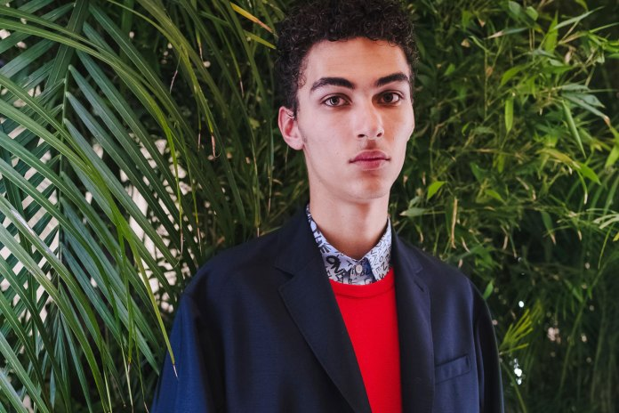 A Look Backstage at OAMC's 2017 Spring/Summer Menswear Show