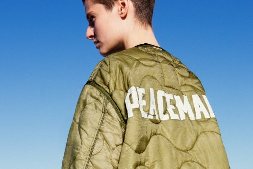 "OAMC Unveils Its ""Peacemaker"" Staff Jacket Exclusively for colette"