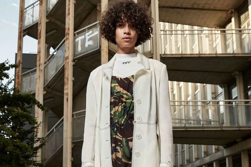 """OFF-WHITE Unveils 2017 Resort """"Roses of War"""" Collection"""