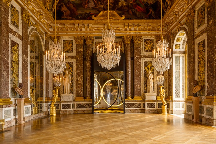 Artist Olafur Eliasson Plays With Space and Permanence in Takeover of Palace of Versailles