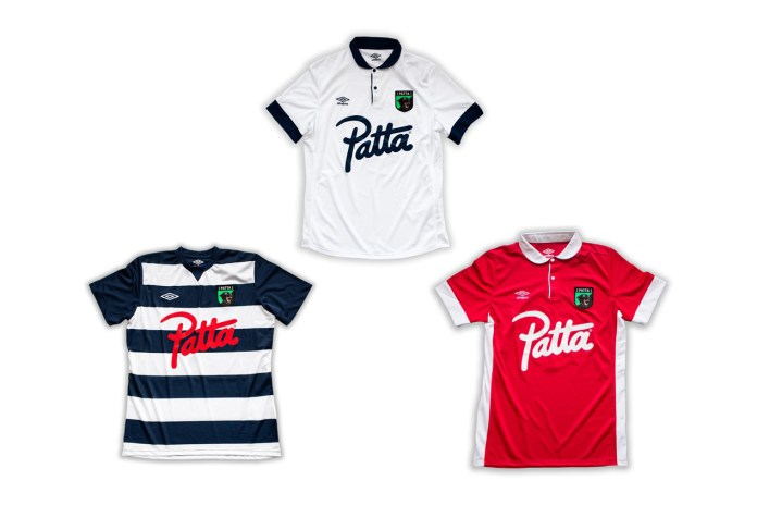Patta & Umbro Join Forces to Benefit the Favela Street Foundation