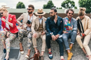 Meet the Peacocks of Pitti Uomo