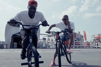 Watch as Pharrell, Nigel Sylvester, Joey Bada$$ and Their BMX Crew Take Over New York City
