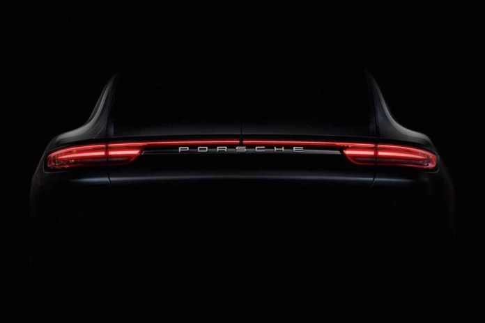 Porsche Teases the All-New Panamera