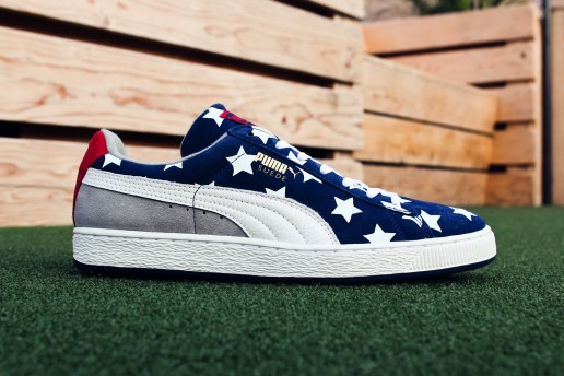 "Gear up for Independence Day With the PUMA Suede ""Americana"""