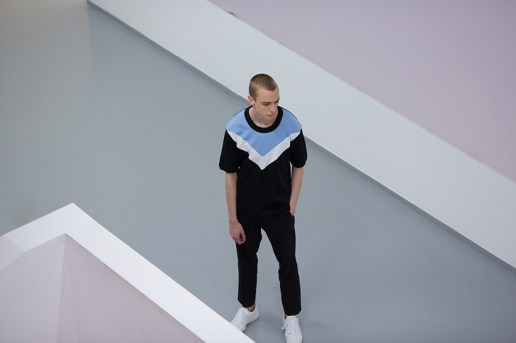 This Raf Simons x Fred Perry x Kixbox Editorial Uses the Moscow Multimedia Art Museum as Its Backdrop