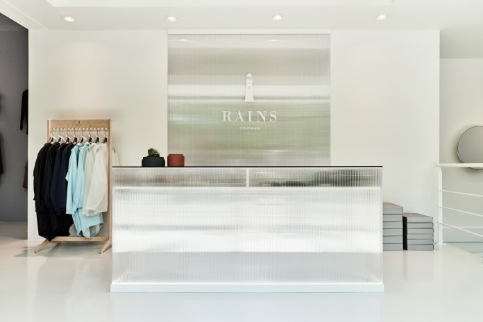 Rains Concept Store in Aarhus, Denmark Exemplifies Its Ultra-Clean Aesthetic