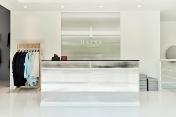 Rains Concept Store in Aarhus, Denmark Exemplifies Its Ultra-Clean Aesthetic