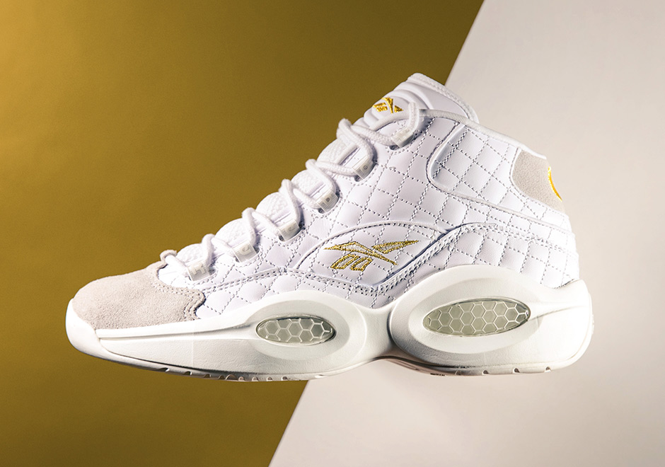 "Reebok Classic Celebrates AI's Birthday With the ""White Party"" Question"