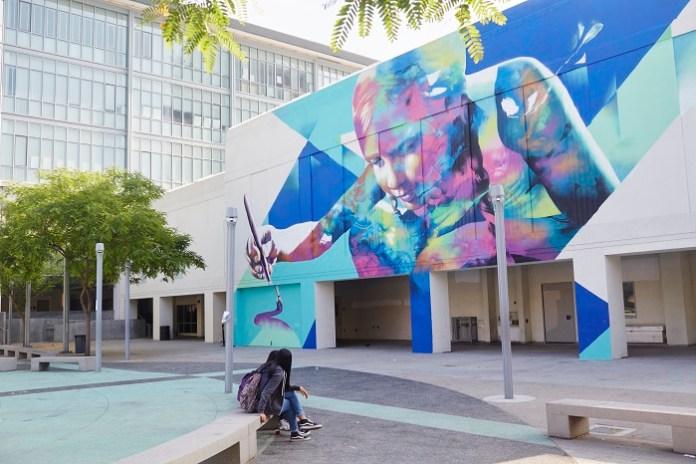20 Influential Muralists Transform a Los Angeles School Into a Street Art Museum