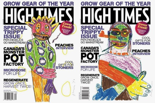Richard Prince Illustrates Two Covers for 'High Times'