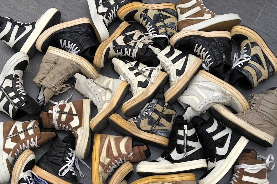 Rick Owens Started Designing Sneakers Because They Frustrated Him