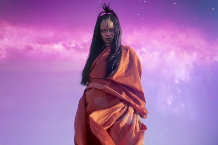 "Rihanna Officially Releases ""Sledgehammer"" Video Via IMAX"