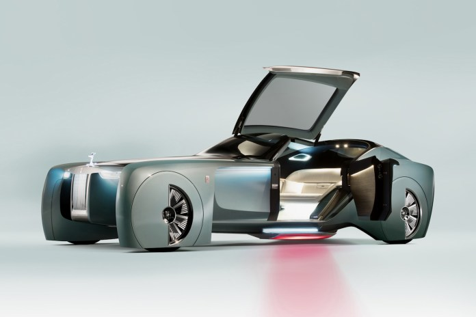 The 103EX VISION NEXT 100 Is the Futuristic Rolls-Royce of Your Dreams
