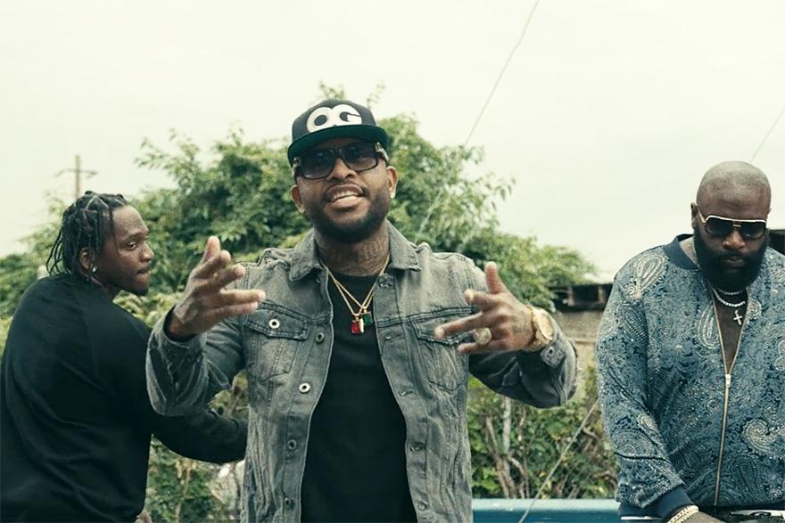 "Royce Da 5'9"", Pusha T & Rick Ross ""Layers"" Music Video"