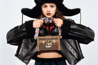 Selena Gomez's First High Fashion Campaign With Louis Vuitton