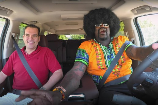 Shaq Goes Undercover as a Lyft Driver