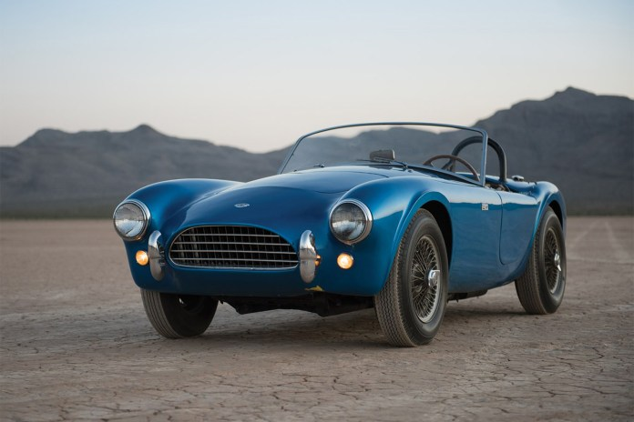 Shelby's First-Ever Cobra Is Headed to the Auction Block