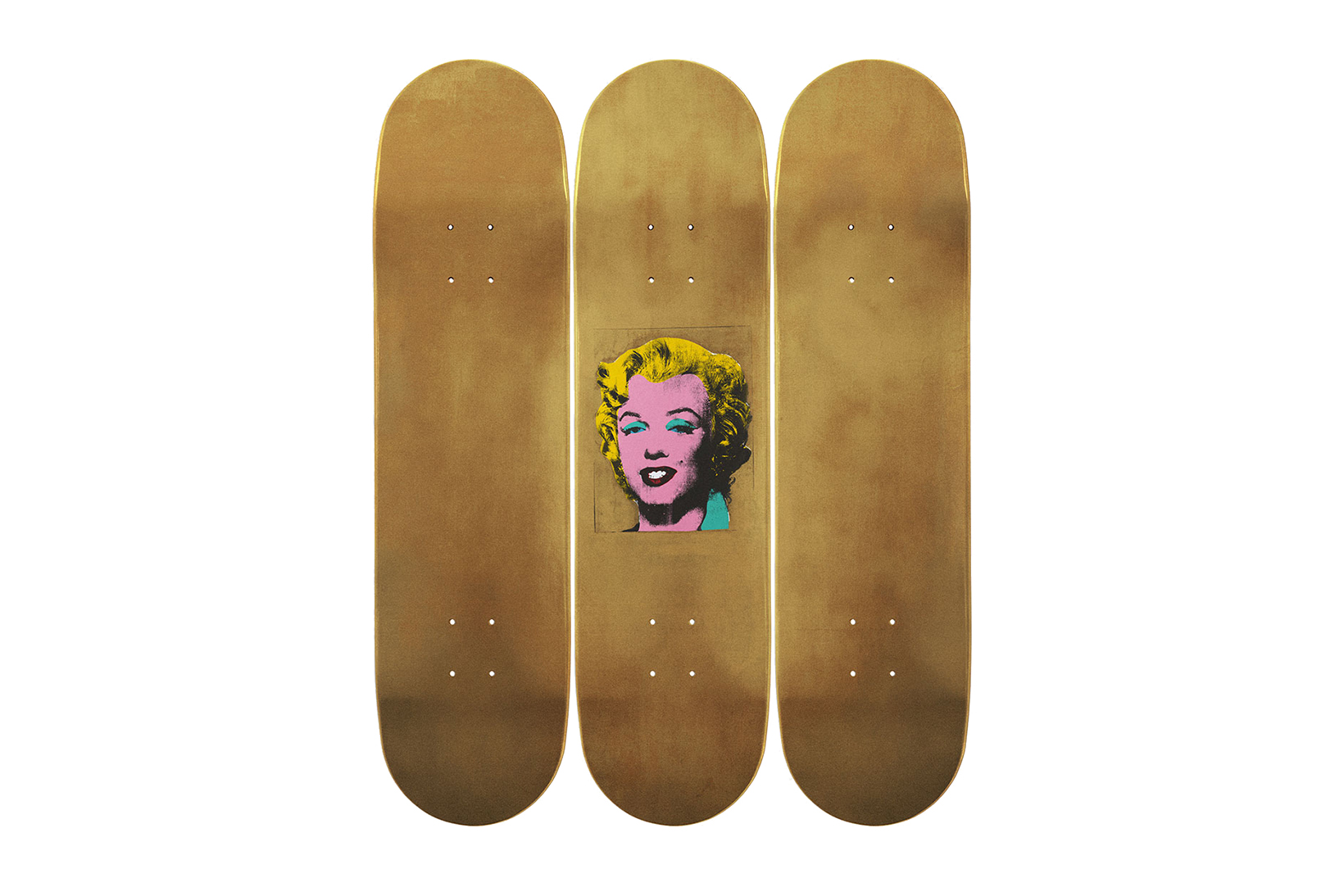 The Skateroom Teams up With the Beyeler Foundation for a Collection of Warhol-Inspired Decks