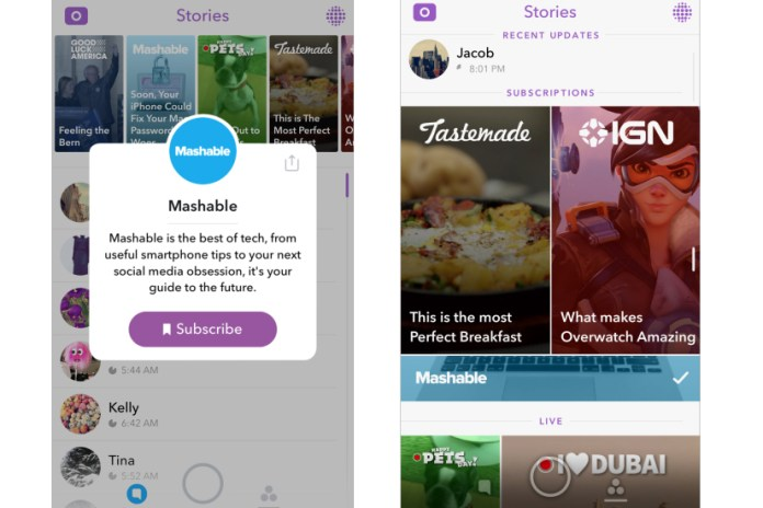 Snapchat Is Introducing Its Latest, More Eye-Catching Discover Layout