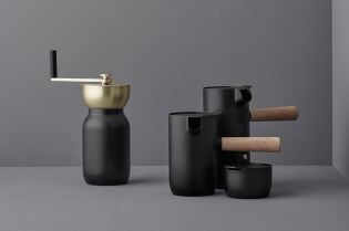 Something Design Creates a Matte Black Coffee Brewing Collection for Stelton