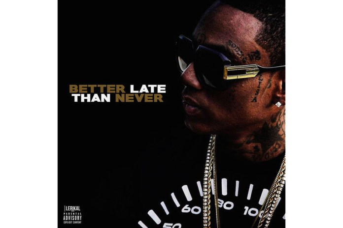 Soulja Boy Follows up SBeezy Lights Sneakers With New Album, 'Better Late Than Never'