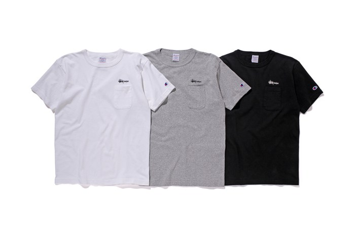 Stussy & Champion Drop More 2016 Spring/Summer Tees