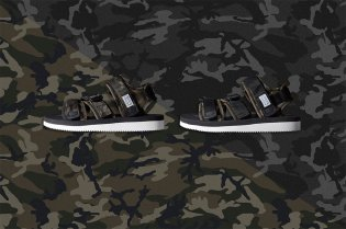 SUICOKE's KISEE-V Gets a Camo Touch From END.