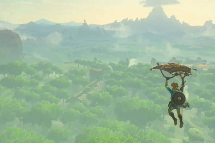 Link Is Back in 'The Legend of Zelda: Breath of the Wild'