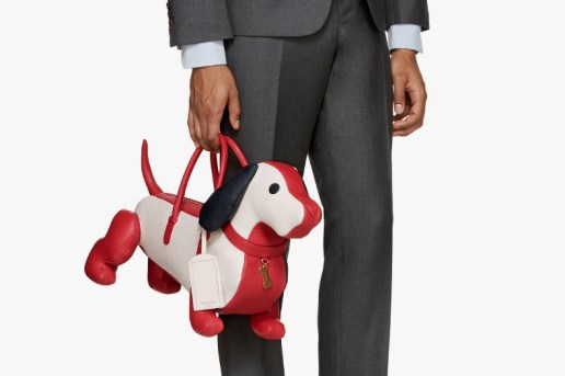 This Dachshund-Shaped Bag by Thom Browne Will Run You $2,600 USD