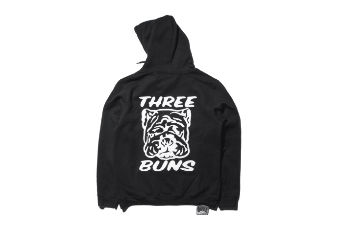 Burger Restaurant Three Buns and Artist Fergadelic Link up Again for an Exclusive Collection