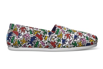 TOMS' Latest Capsule Collection Features Keith Haring Artwork