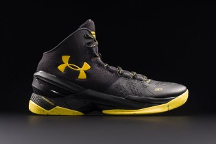 "Steph Curry Becomes Golden State's Vigilante With the Under Armour Curry 2 ""Black Knight"""