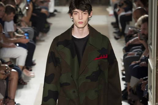 Valentino Highlights Army-Inspired Apparel for Spring/Summer 2017
