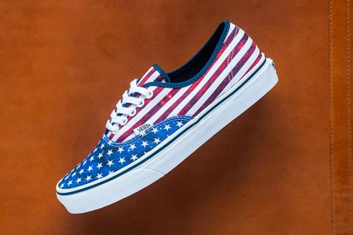 Vans Gets Patriotic With American Flag-Inspired Colorway