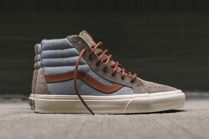 Vans Sk8-Hi Reissue DX Hits the Street in a Tonal Grey and Chambray Colorway