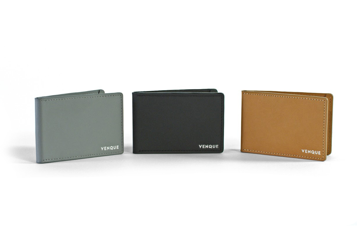 The Razor-Thin Venque 3D Slim Wallet Still Has Room for Your Coins