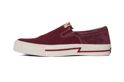 visvim's Seasonal SKAGWAY SLIP-ON Features a Combination of Denim & Suede