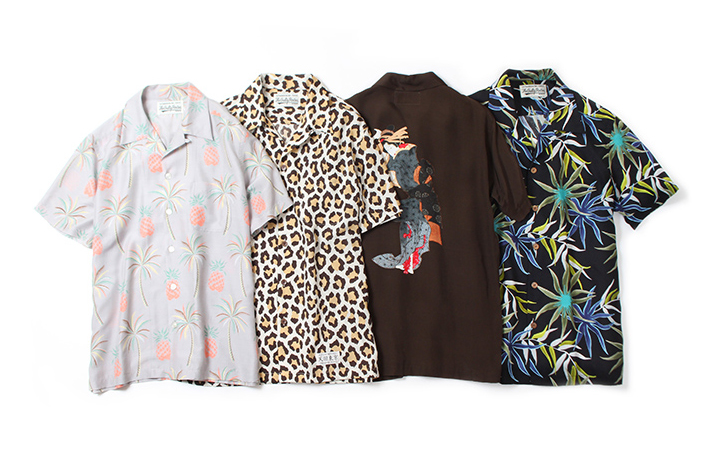 Inject Some Color Into Your Wardrobe With WACKO MARIA's New Aloha Shirts