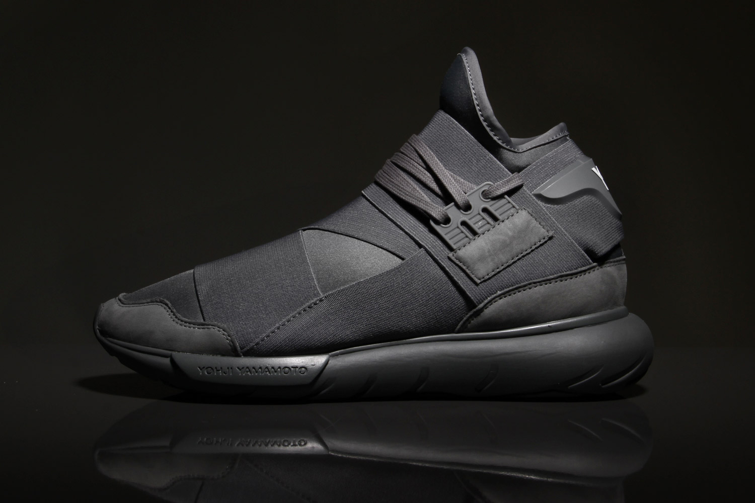 """Y-3's Qasa High Silhouette Adds """"Vista Grey"""" to Its Selection of Colors"""