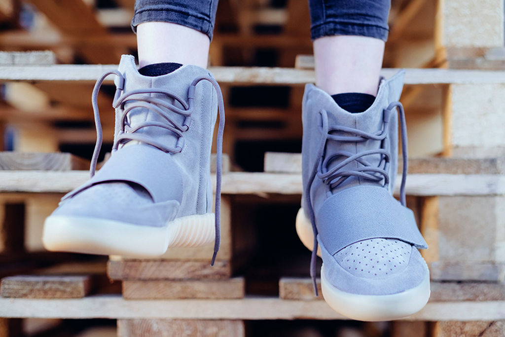 """Another Look at the Yeezy Boost 750 """"Light Grey/Gum"""""""