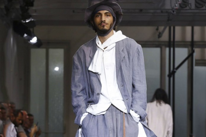 Yohji Yamamoto's Latest Collection Glorifies Human Movement for Spring/Summer 2017