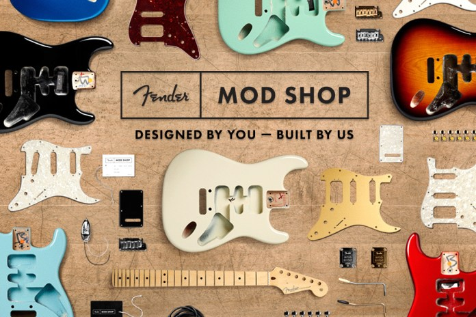 You Can Now Build Your Very Own Fender Guitar Online