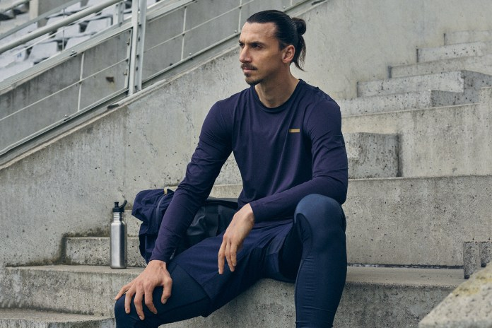 Sweden Striker Zlatan Ibrahimovic Launches A-Z Sportswear Line