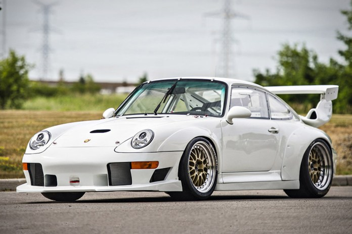 A Rare 1995 Porsche 911 GT2 Evo Is up for Auction