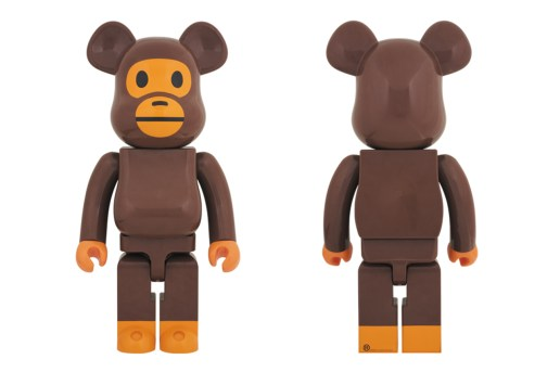 Here's Your Chance to Pick up an A Bathing Ape x BE@RBRICK Baby Milo 1000% Figurine
