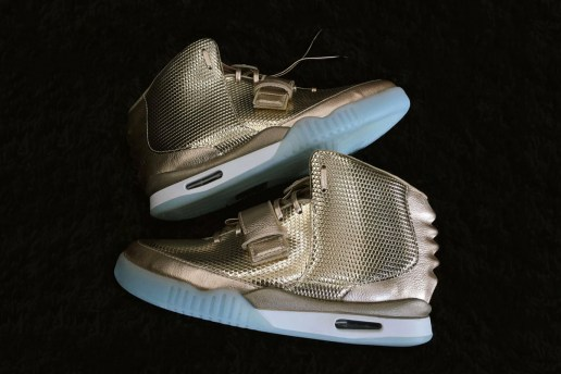 This Custom Nike Air Yeezy 2 Is Coated in Gold