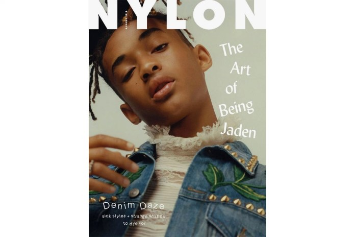 Jaden Smith Is the First Solo Male to Appear on a 'NYLON' Magazine Cover