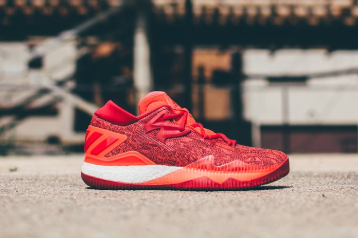 adidas Crazylight Boost Low 2016 'Solar Red'