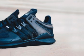 "A Closer Look at the adidas EQT Support ADV ""Triple Black"""